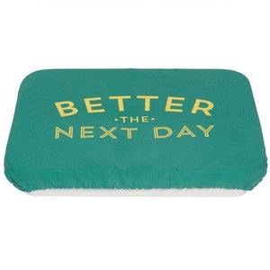 Couvre Plats Better the next day sur fond blanc
