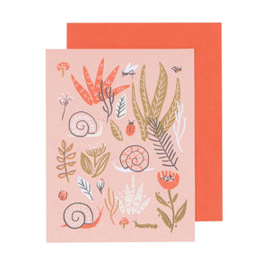 Danica Studio Carte Souhait Nature Small World Sur Fond Blanc