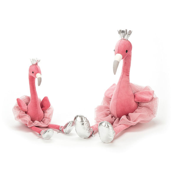 Duo de flamands roses de fantaisie