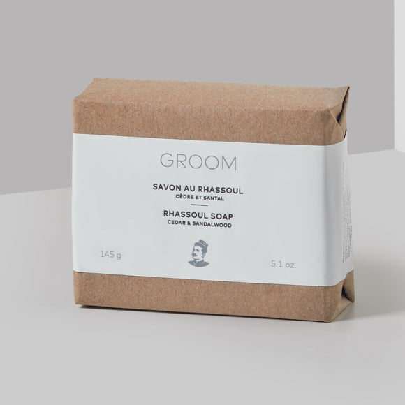 GROOM - Savon Au Rhassoul