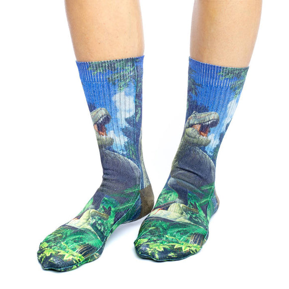 Good Luck Sock Bas Femmes T-Rex Dinosaure