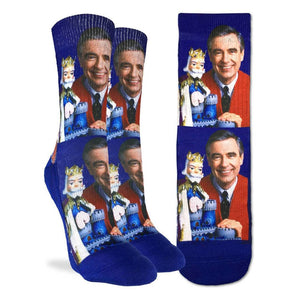 Good Luck Sock Bas Pour Femme Mister Rogers Socks