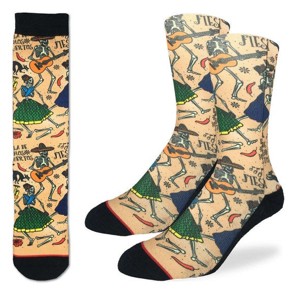 Good Luck Socks Bas Pour Homme Day Of The Dead
