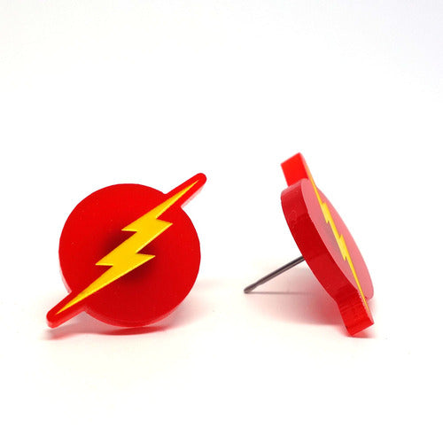 LiliPop - Boucles D'Oreilles - The Flash - 0459