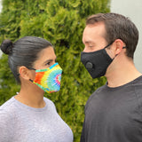Living Royal Tie Dye Black Masks Profil
