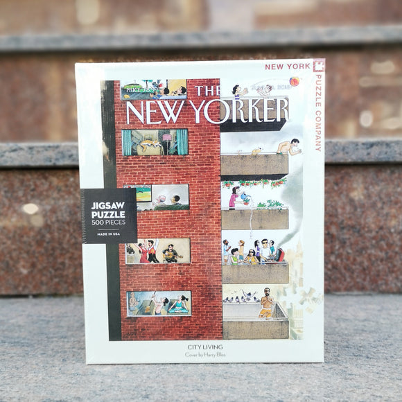 New York Puzzle Company Casse-Tête City Living