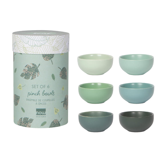 Now Design Ensemble Petits Bols Leaf Sur Fond Blanc