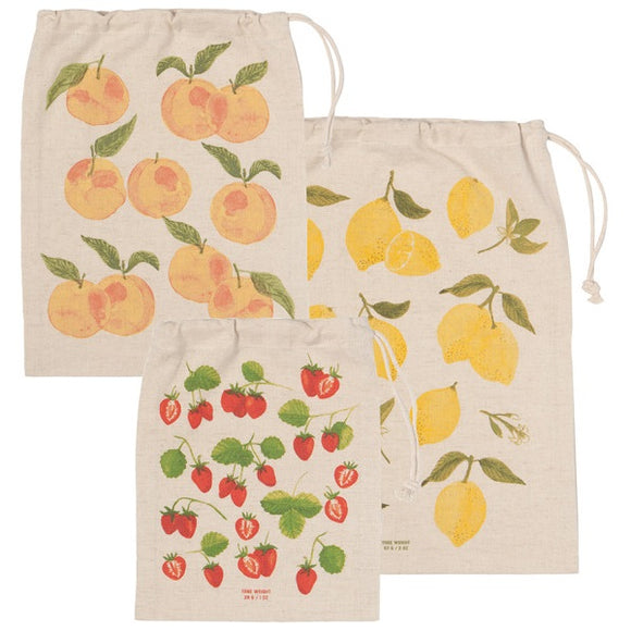 Now Design Trio De Sacs À Fruits