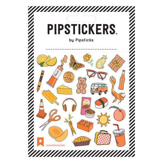 Pipsticks - Autocollants Orange