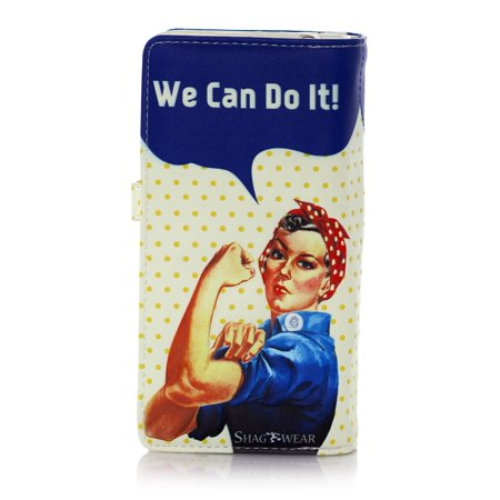 SharWear Portefeuille We Can Do It Rosy The Riveter Grand
