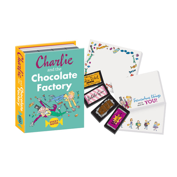 UPG Sticky Notes Charlie & Chocolate Factory 2