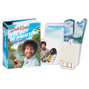 Unemployed Philosopher Bob Ross Sticky Notes