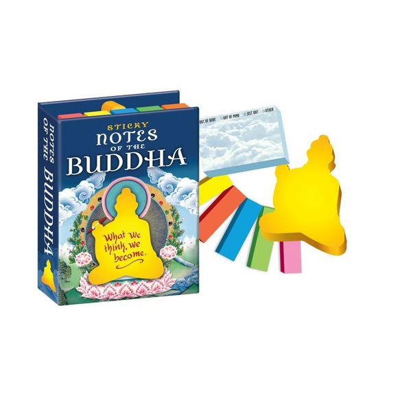 Unemployed Philosopher Guild Buddha Sticky Notes
