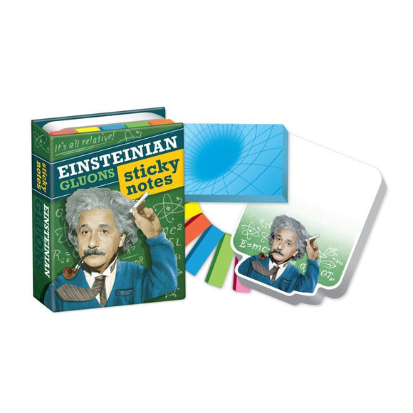 Unemployed Philosopher Guild Einsteinian Gluons Sticky Notes Avant