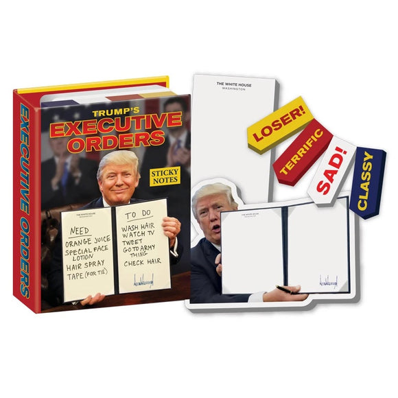 Unemployed Philosopher Guild Executive Orders Sticky Notes