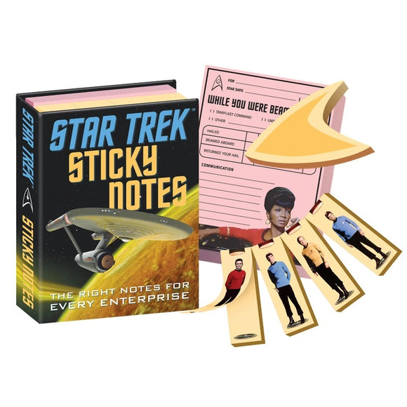 Unemployed Philosopher Guild Star Trek Sticky Notes