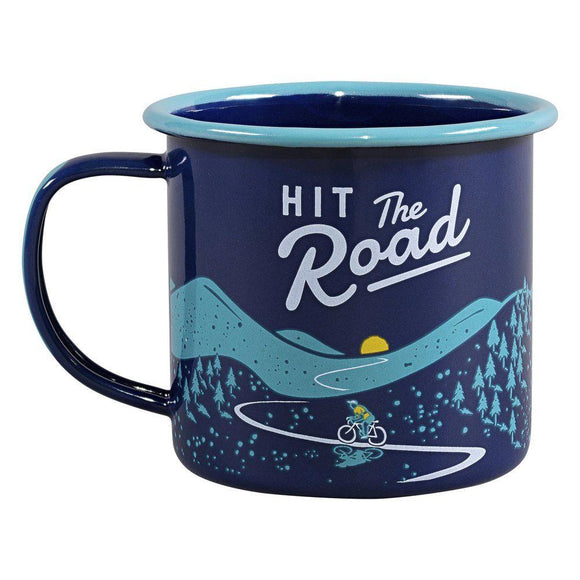 Wild & Wolf - Tasse - Hit The Road