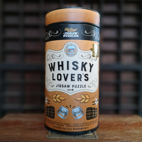 Wild & Wolf Ridley Casse-Tête Puzzle Whiskey Lover