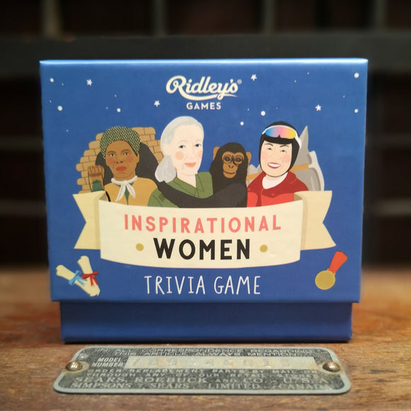 Wild & Wolf Ridley Inspirational Women Trivia Game