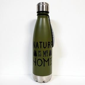 "Bouteille isolée ""Nature is my home"""
