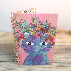 Cahier de notes chat