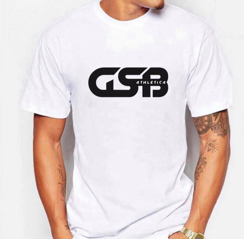 Men's GSB Athletica Basic Tee (White)