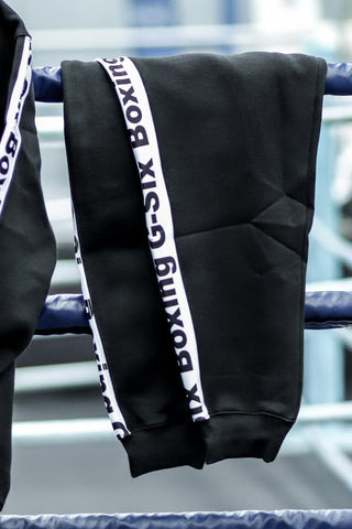G-Six Boxing Trackies - Black & White