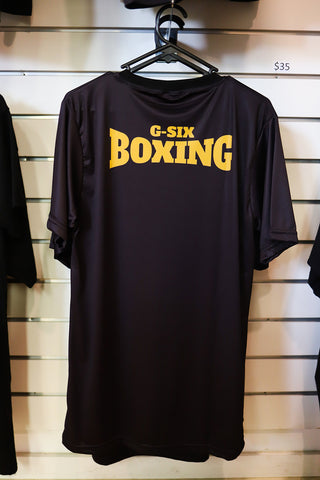 G-Six Boxing Shirt - Gold