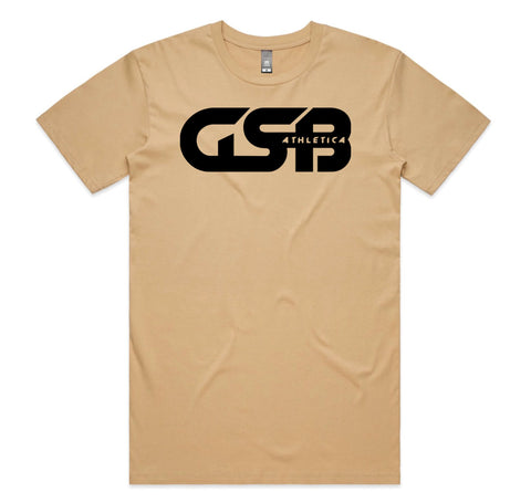 Men's GSB Athletica Basic Tee (Tan)