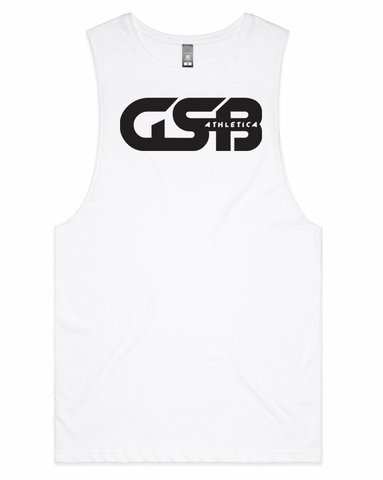 GSB Athletica Basic Tank (White)