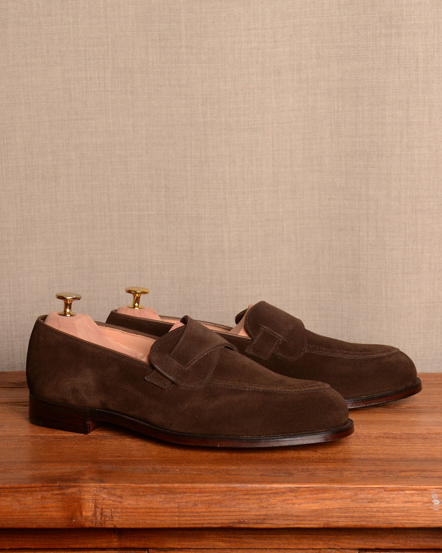 Crockett & Jones Admiral - Dark Brown Suede
