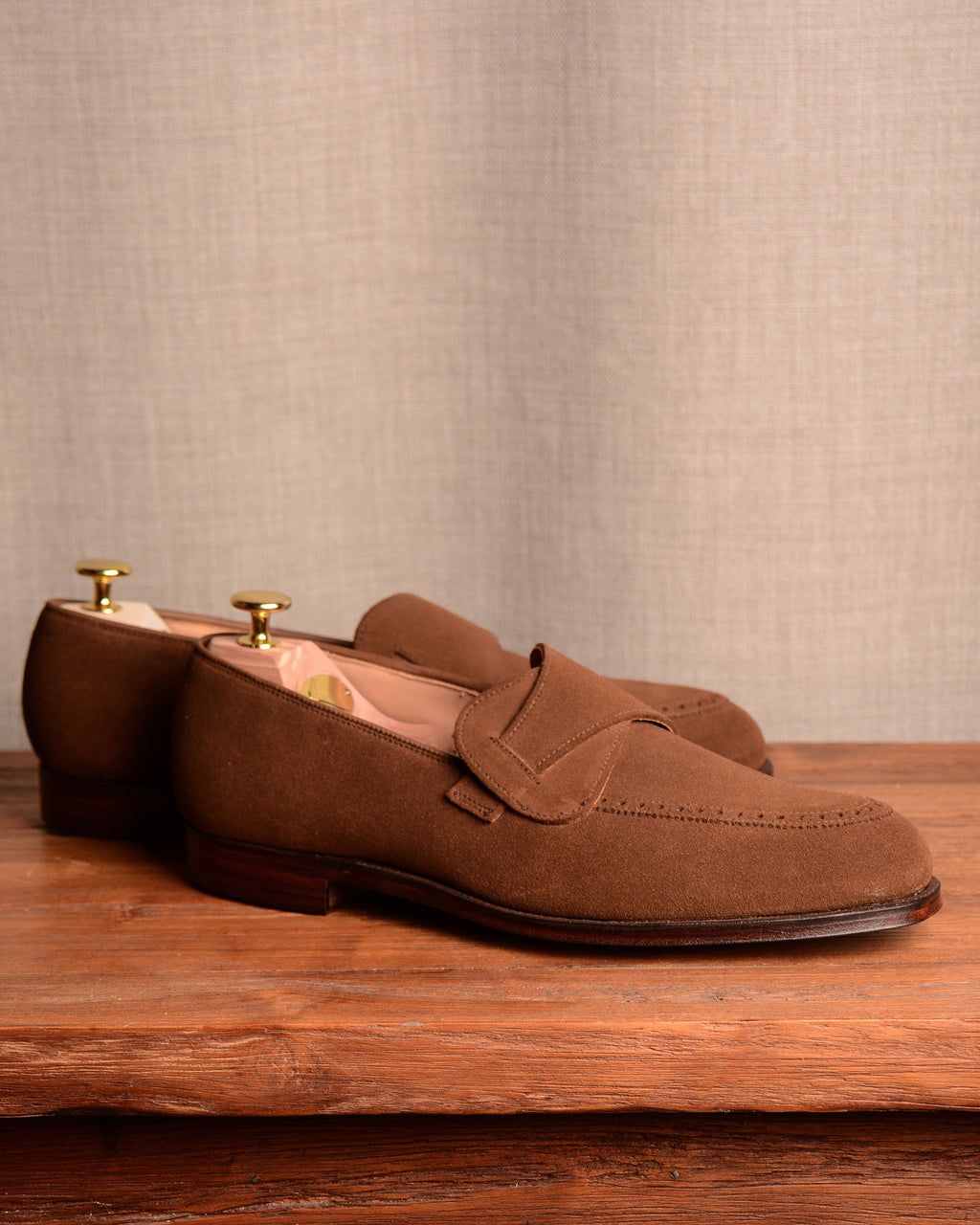 Crockett & Jones Admiral - Snuff Suede