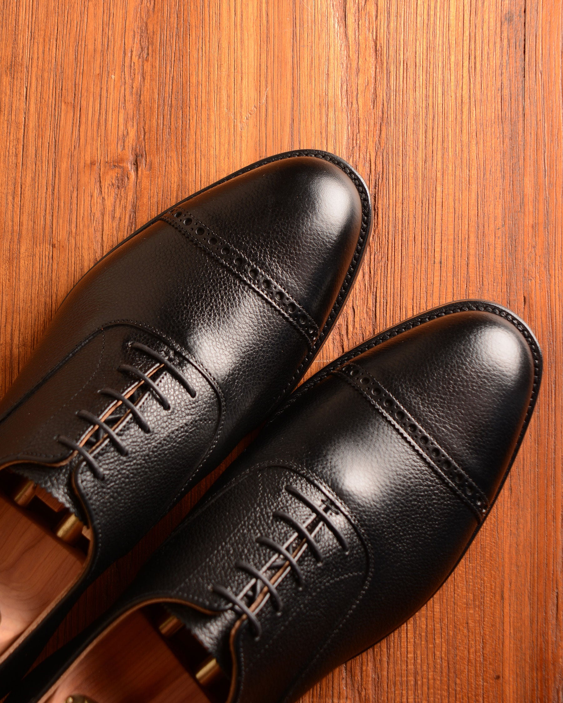 Crockett & Jones Arden - Black Pebble Grain
