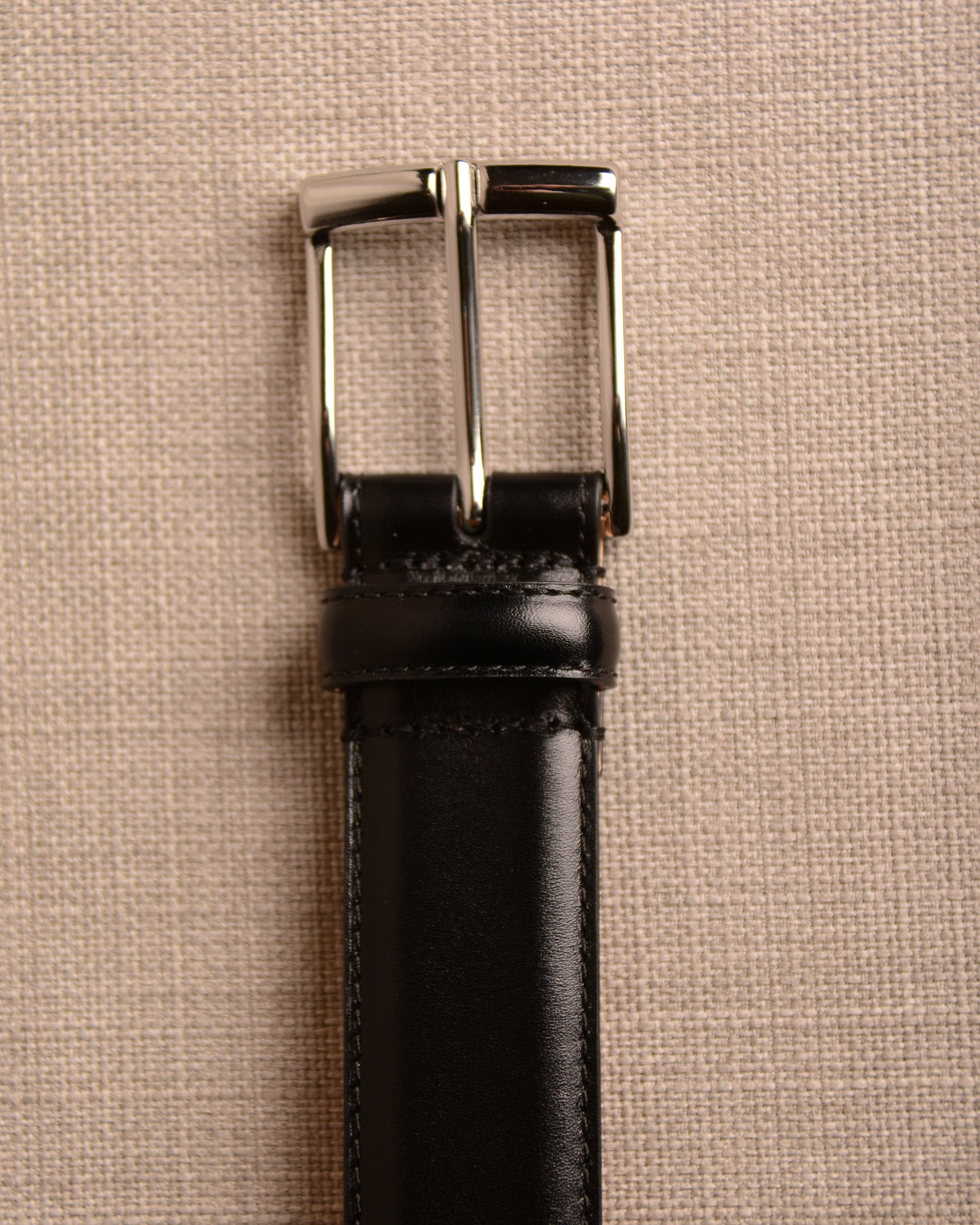 Crockett & Jones - Belt Black Calf