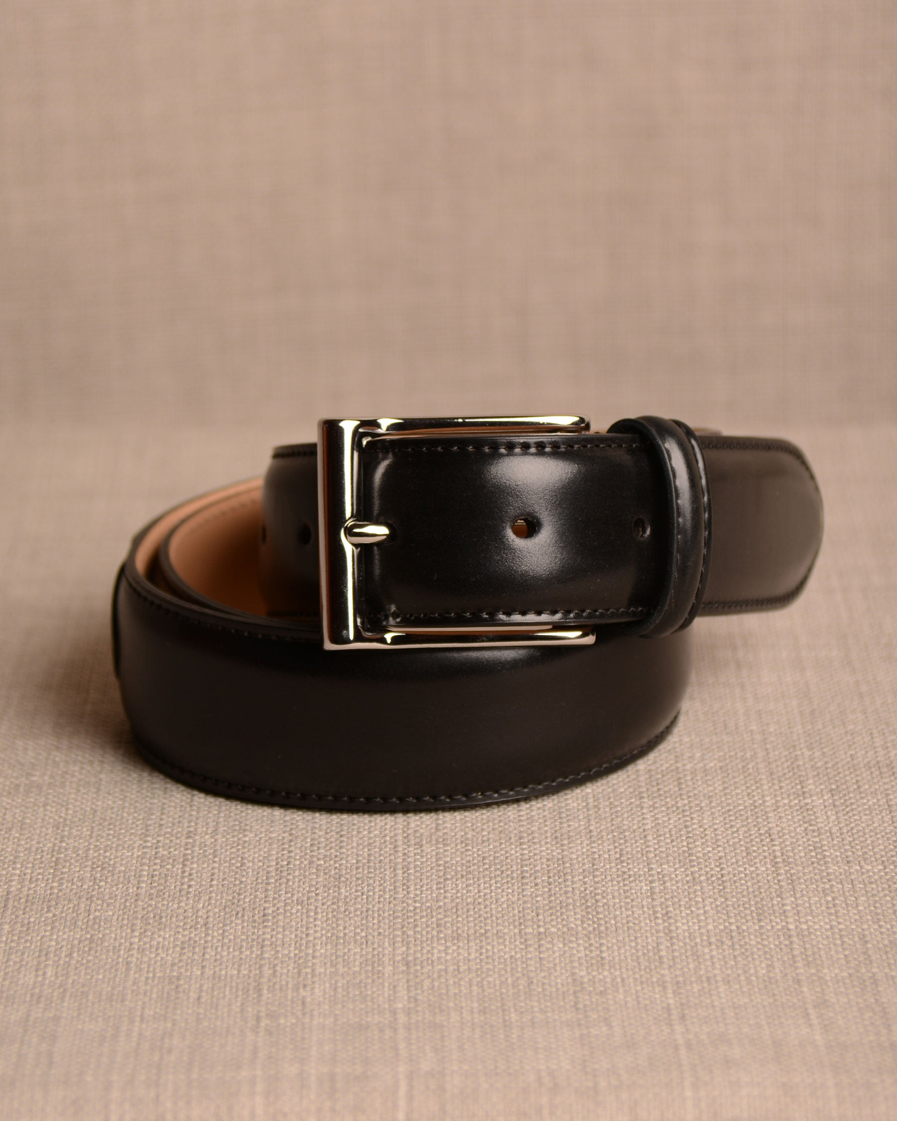 Crockett & Jones - Belt Black Cordovan