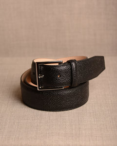Crockett & Jones - Belt Black Grain