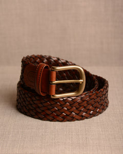 Crockett & Jones - Belt Brown Weave