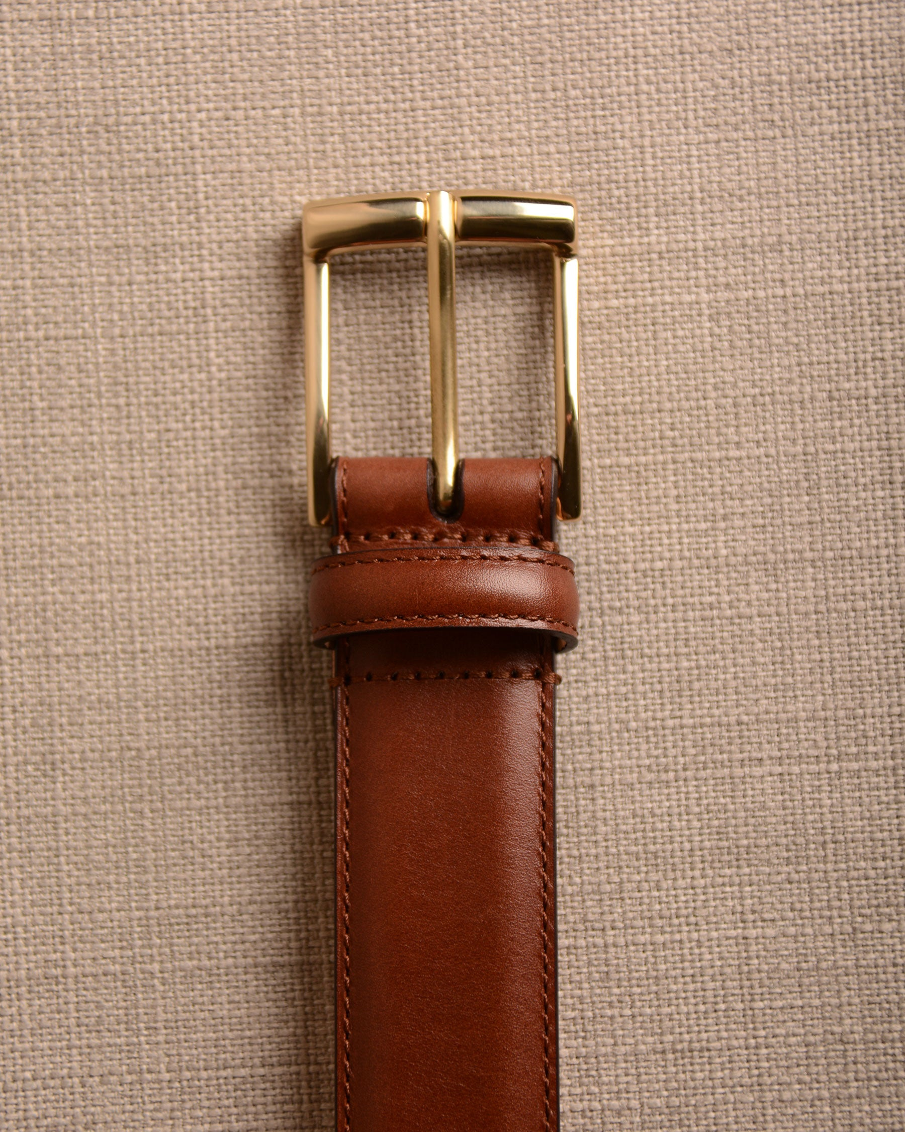 Crockett & Jones - Belt Chestnut Calf