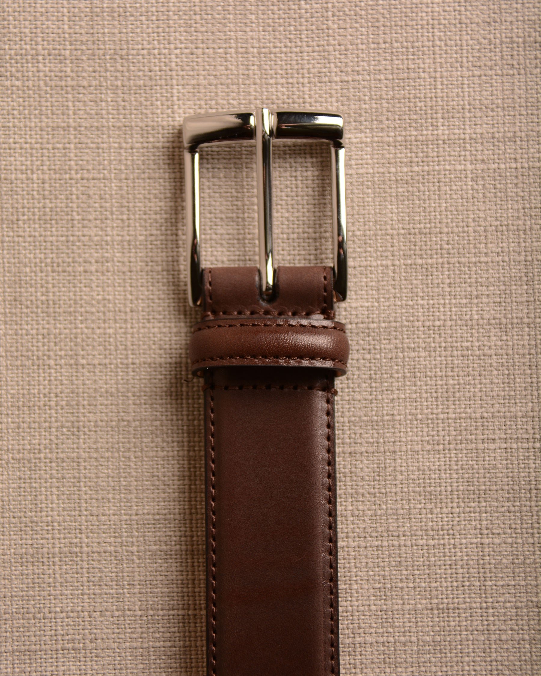Crockett & Jones - Belt Dark Brown Calf