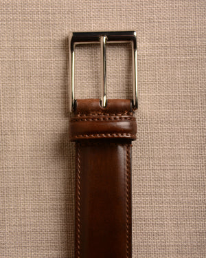 Crockett & Jones - Belt Dark Brown Cordovan