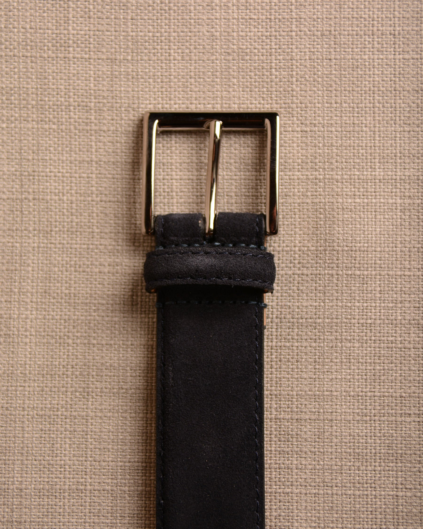 Crockett & Jones - Belt Navy Suede