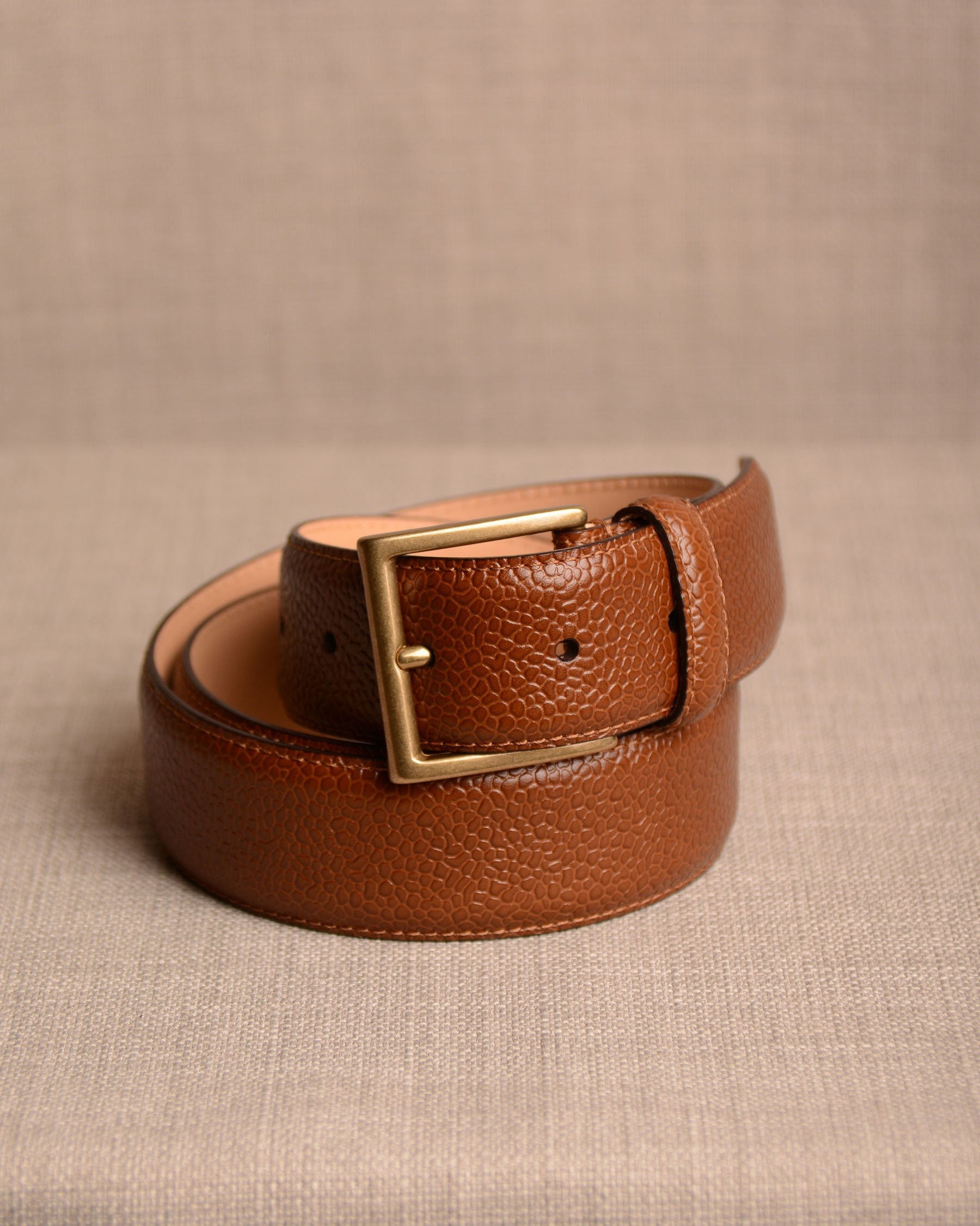 Crockett & Jones - Belt Tan Grain