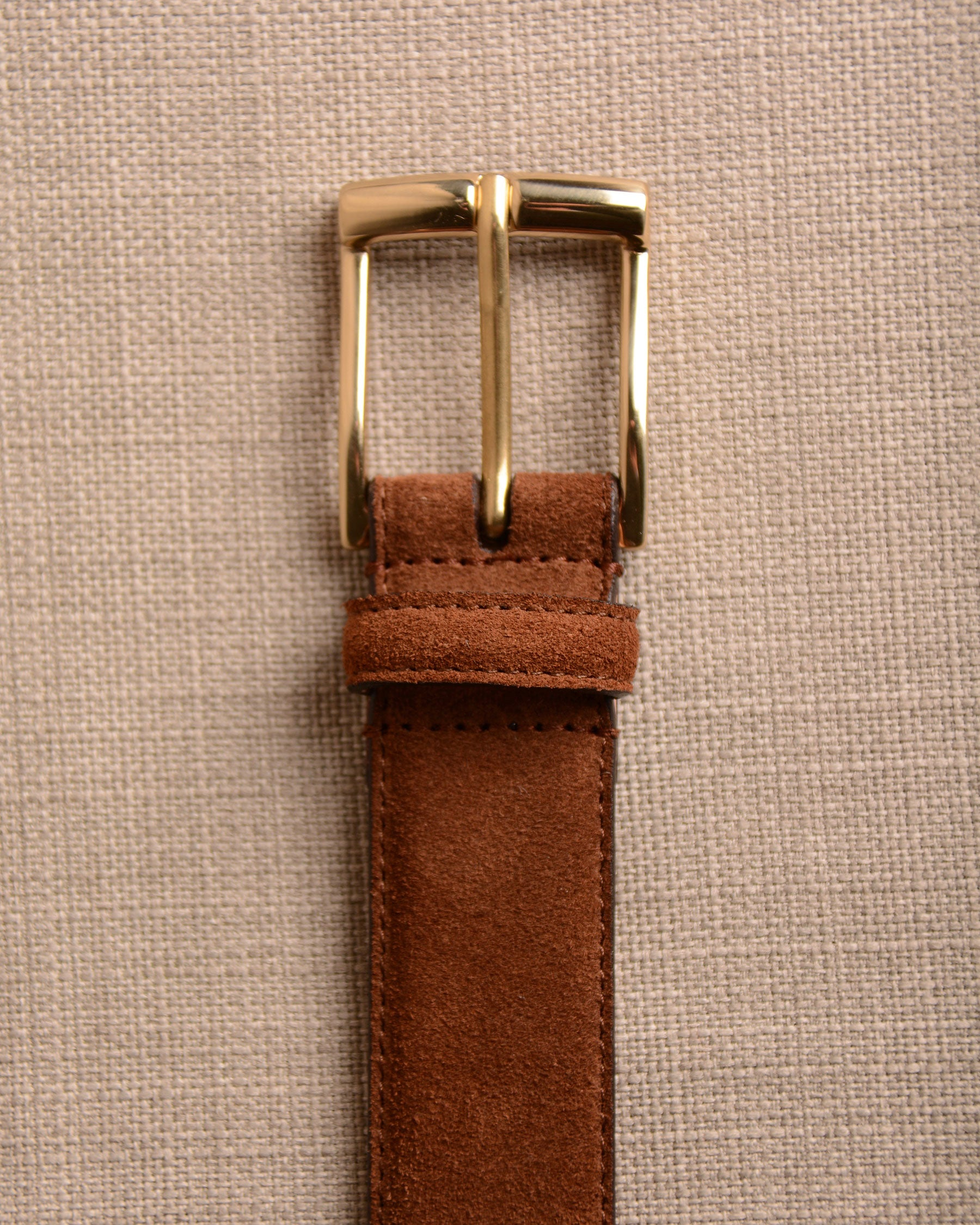 Crockett & Jones - Belt Tobacco Suede