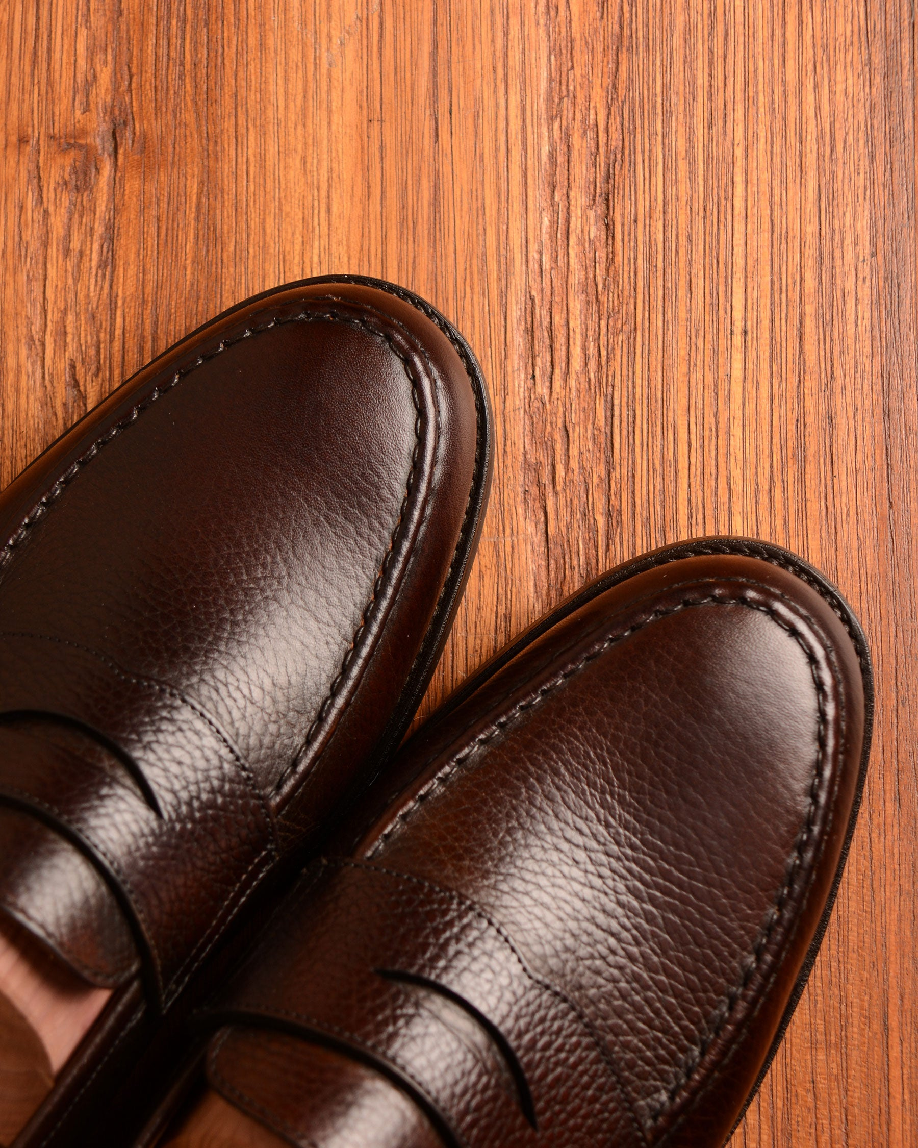 Crockett & Jones Boston - Brown Grain