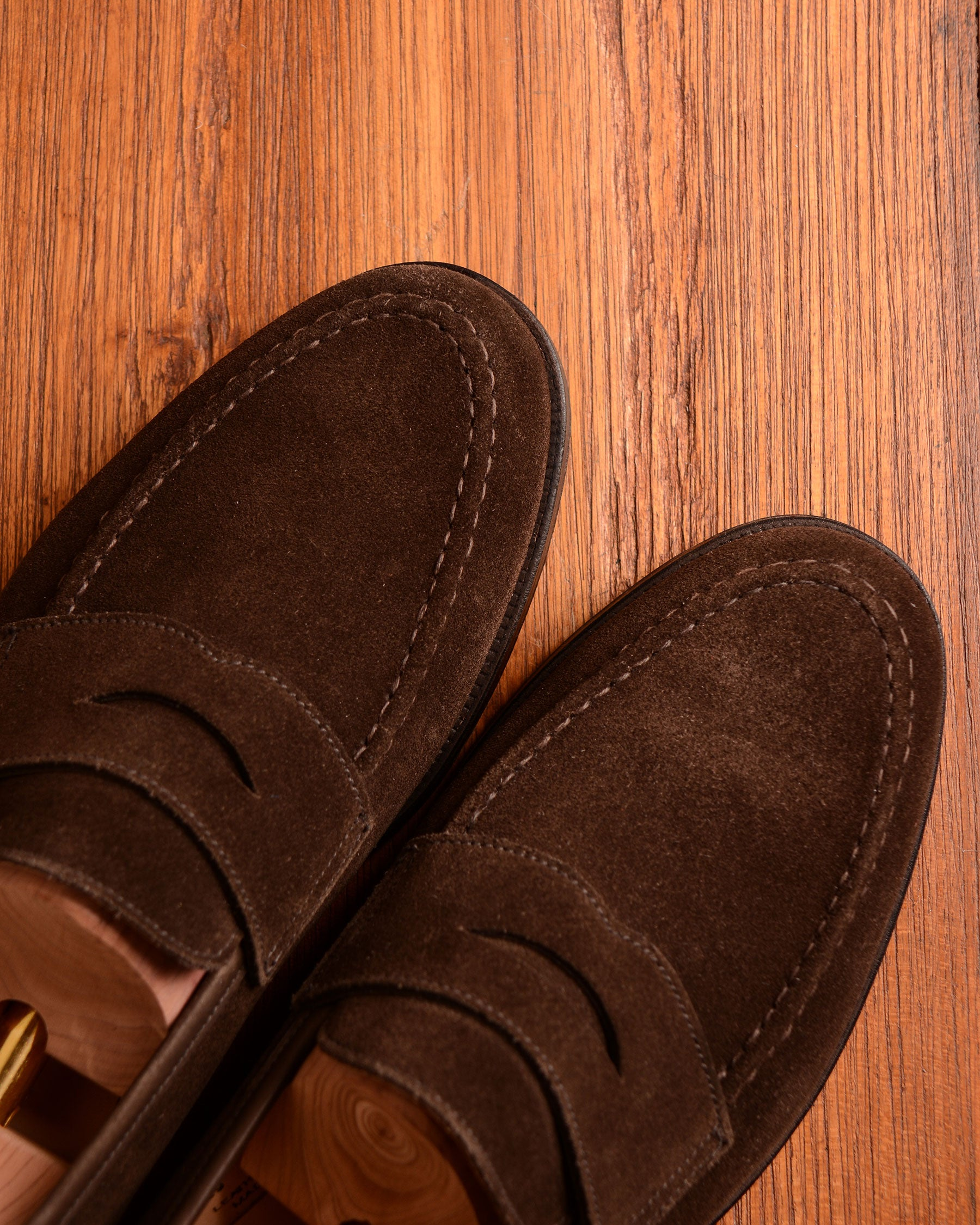 Crockett & Jones Boston - Dark Brown Suede
