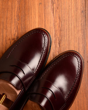 Crockett & Jones Boston - Burgundy Cavalry Calf