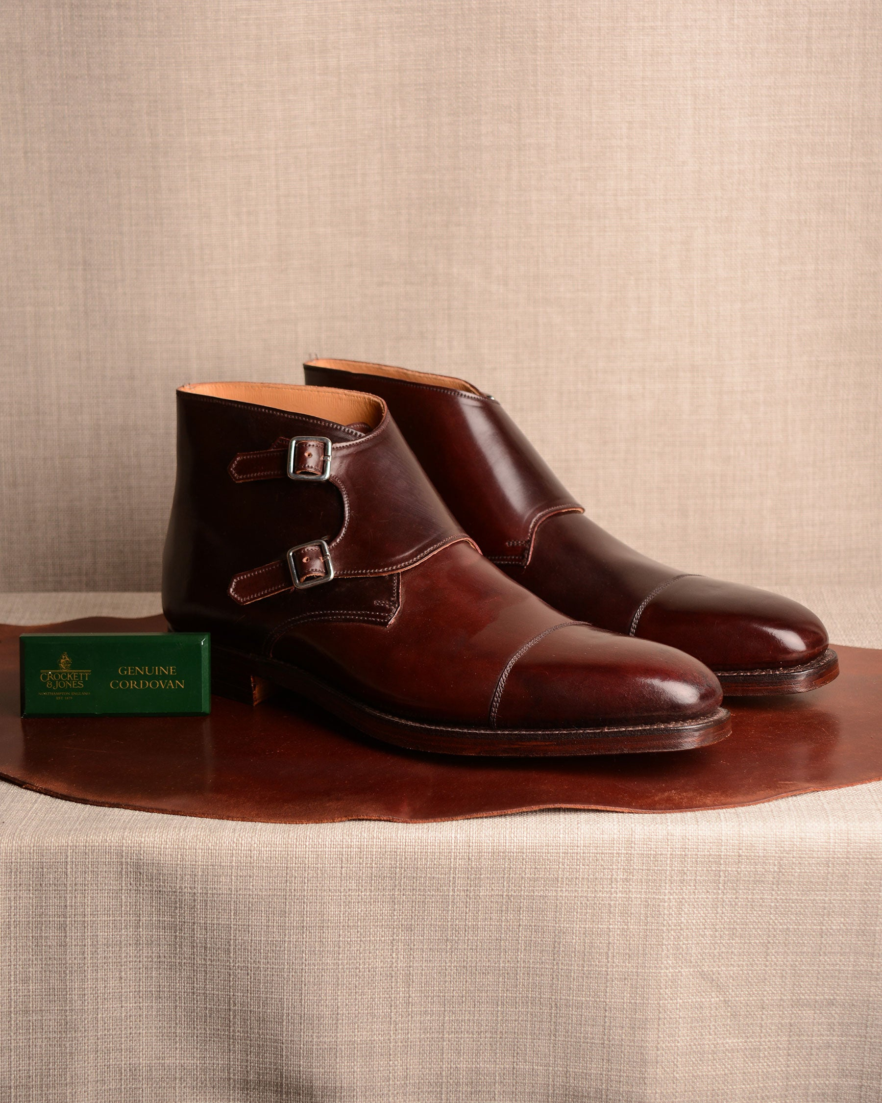 Crockett & Jones Camberley - Col. 8 Cordovan