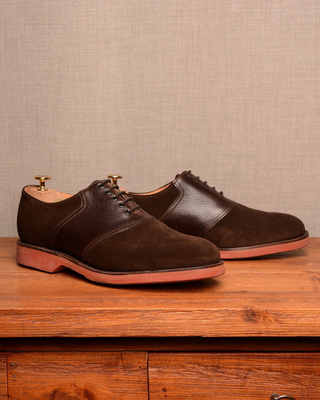 Crockett & Jones Cannock - Dark Brown Suede
