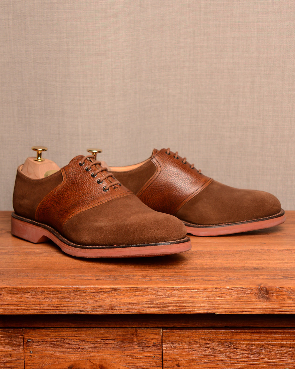 Crockett & Jones Cannock - Snuff Suede
