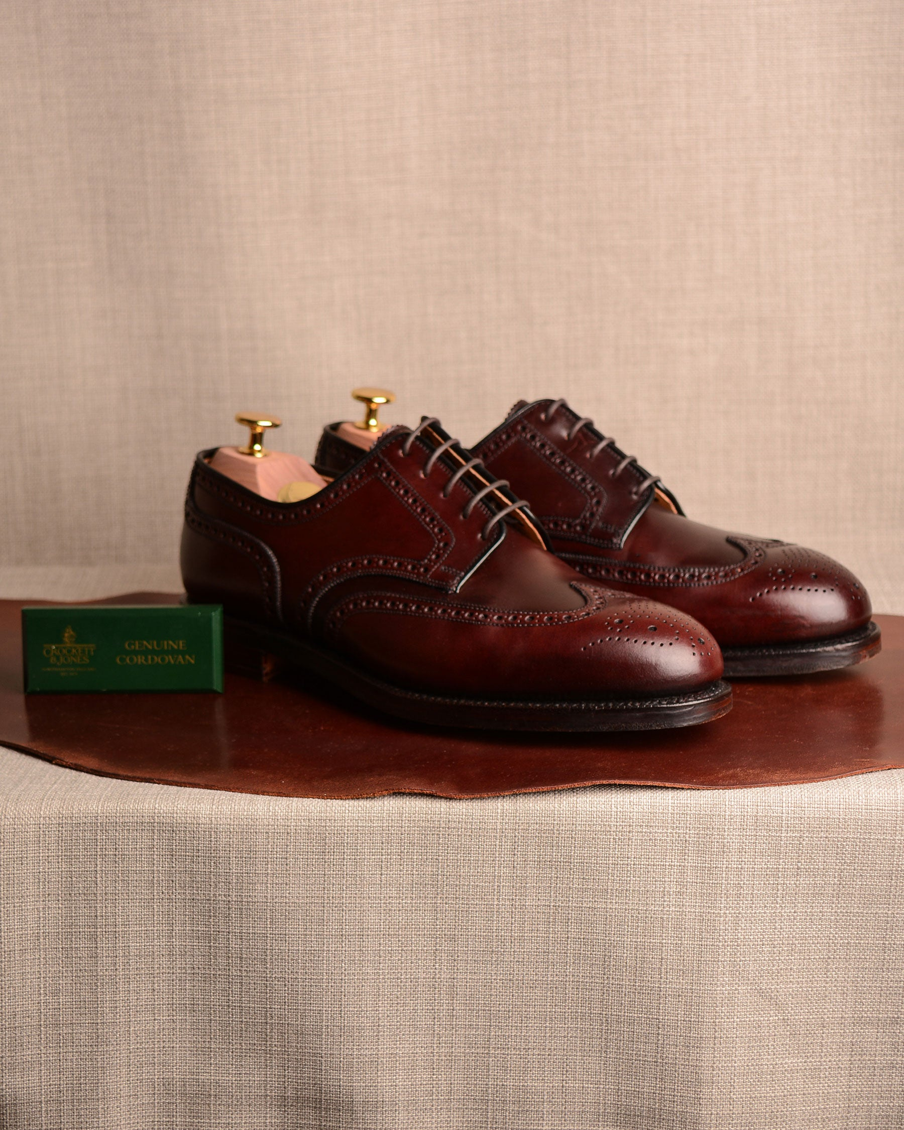 Crockett & Jones Cardiff - Col. 8 Cordovan